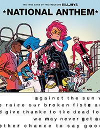 Read The True Lives of the Fabulous Killjoys: National Anthem comic online