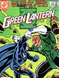 Read The Green Lantern Corps comic online