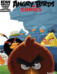Read Angry Birds Comics (2014) comic online